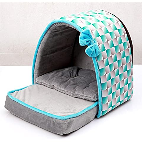 Pet Supplies Pantofole Archi Dog House Lettiere Per Gatti, Tre Colori Sono Disponibili ( colore : C. )
