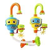 Insun Spielzeug Bad Baby Badespielzeug Taucher Dusche Spray Bad Spiel Geschenke Blau und Gelb