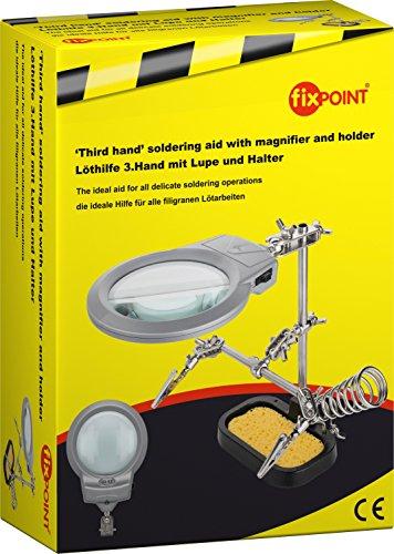 Fixpoint 51226Soporte multifunción tercera mano para electrónica y
