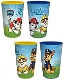 Paw Patrol Bicchieri per succo–Set da 4bicchieri