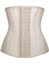 96c4a0a82449e DeepTwist Women s Latex Waist Trainer Weight Loss Body Shaper Tummy Control Cincher  Corset