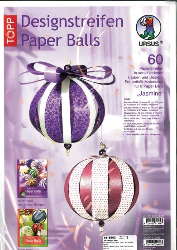 aper Balls Jasmine (Jasmine Party Supplies)