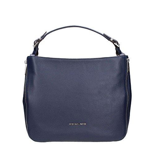 Michael Kors ESSEX XLSHLDRLTR Taschen Accessoires Marine TU (Marine-blau-michael Kors Handtaschen)