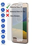 Todotumovil Protector de Pantalla Motorola Moto G5 5.0 de Cristal Templado Vidrio 9H para movil