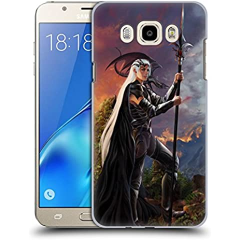 Official Nene Thomas Destiny Dragons Hard Back Case for Samsung Galaxy J7 (2016)
