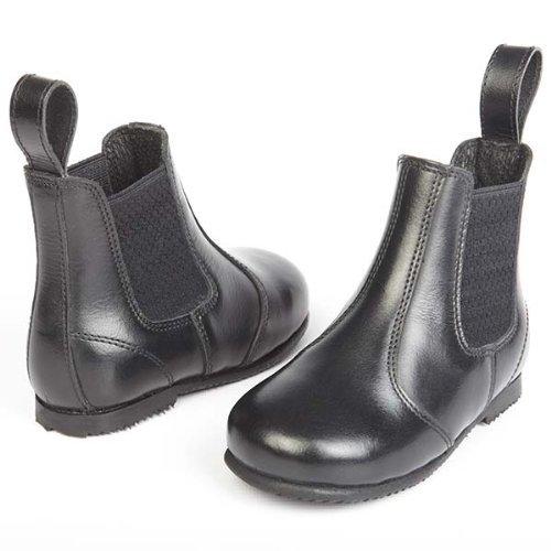 trian Pferdeschuhe, schwarz - schwarz, 7 (Kleinkind-schwarz, Hunter Stiefel)