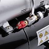 Fengda FD-186 Airbrush Kompressor mit Lufttank/Druckbehälter/ 4 bar / Auto Stop - 4