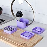 Generic F050 Kitchen Pot Cover Rack Grinding Mud - Best Reviews Guide