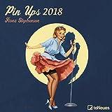 Pin Ups 2018 - Broschürenkalender, Retro, Vintage, Kunstkalender 2018 - 30 x 30 cm