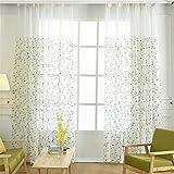 GUOCAIRONG® Solid Tüll Vorhang Anpassbare Produkt Einfache elegante Balkon Fenster Wohnzimmer Vorhänge Sheer Vorhänge 1 Stück , 1.5*2.7m