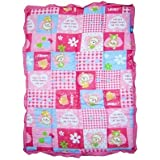 Playking Baby Quilt Keeps Baby Warm And Cozy Size 100 X 74 Cm, Color May Vary