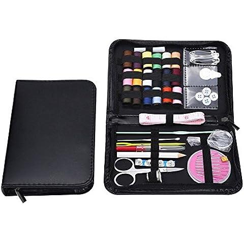 EchoAcc® Conjunto de Múltiples Funciones Esenciales Inicio Caja de Costura, 38 Piezas de Kit de Herramientas de