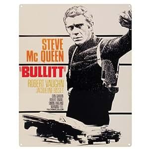 Bullitt Plaque en métal