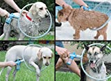 Maharsh Pet Dog Cat Bathing Washing 360 Degree Shower Tool Kit Cleaning Washer