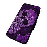 Aztec Skull–Handy-Hülle, lila. Sony Xperia Z5 Premium
