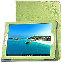 SMTR® Teclast X98 PLUS II tableta PU funda, Calidad premium Slim Soporte Funda para Teclast X98 PLUS II Tableta - verde
