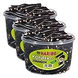 Haribo Konfekt-Stangen, 3er Pack, Gummibärchen, Weingummi, Fruchtgummi