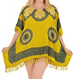 LA LEELA Kleid der Frauen Designer-Bademode Bikini Bademode Badeanzug vertuschen Sundress