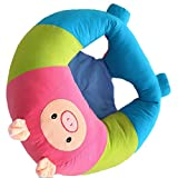 #10: MagiDeal Baby Soft Learn Sitting Back Chair Sofa Training Seat Nursing Pillows - piggy