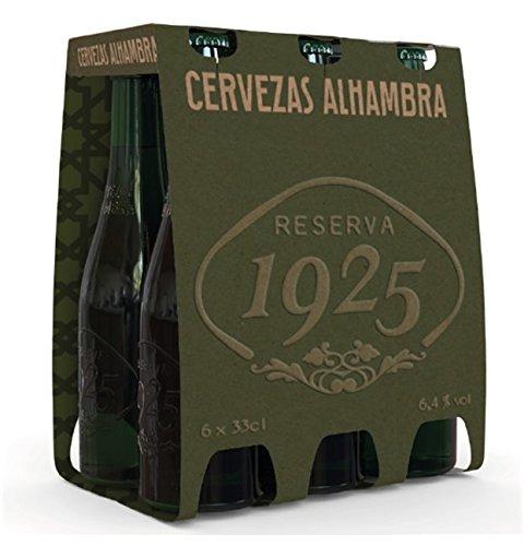 Foto de Alhambra Reserva 1925 Cerveza - Paquete de 6 x 330 ml - Total: 1980 ml