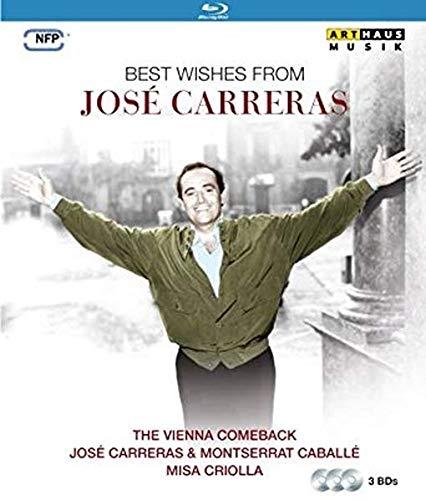 Best wishes from José Carreras [3 Blu-rays]