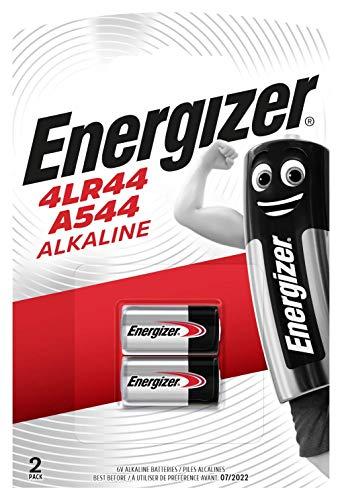 Energizer A544 4LR44 4G13 L1325 6 V Alkaline-Batterien Doppelpack [2er-Blister]