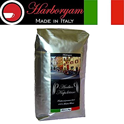 Coffee beans - 100% Arabica blend traditionally made in Italy from Harboryam