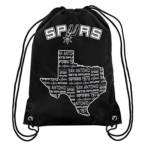 FOCO NBA San Antonio spurssmu ST Kordelzug Rucksack, San Antonio Spurs, One Size - San Antonio Spurs-bean-bag