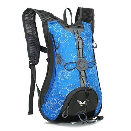 Z&N Backpack Leichte 15L KapazitäT Hochwertiges Nylon Fahrrad Mountainbike Reitrucksack MäNner Und Frauen Outdoor Sporttasche Bergsteigen Tasche Freizeit Rucksack A