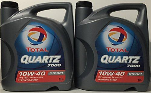 Total Quartz 7000 Diesel 10W40 10 LITROS 2x5 litros