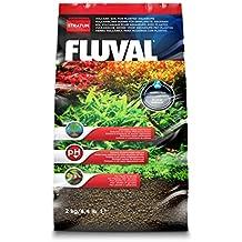 Fluval 12693 Stratum - Sustrato vulcánico para acuarios de gambas o con plantas - 2 kg