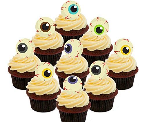 Halloween Cut–Essbare Cupcake Topper–Stand-Up Wafer Kuchen Dekorationen, (Kuchen Bilder Cupcakes Und Halloween Von)