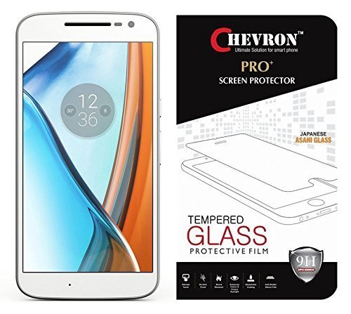 Chevron 2.5D 0.3mm Pro+ Tempered Glass Screen Protector For Moto G4 (Gen 4) / 4th Generation