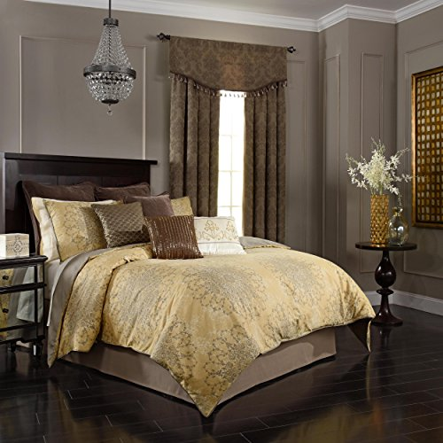 beautyrest 16328beddknggol Sandrine Tröster Set, Gold, King