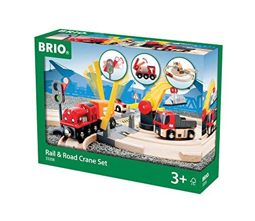 BRIO World  - 33208 - CIRCUIT TRANSFERT DE MARCHANDISES RAIL / ROUTE