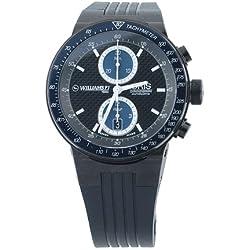 Oris Men's 673 7563 4754RS Williams F1 Chronograph Black Dial Watch