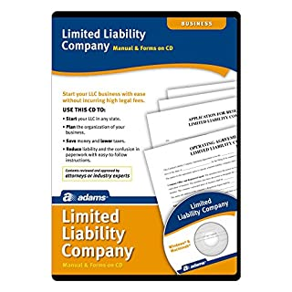 Adams Limited Liability Companies Manual and Forms on CD (SS4309)