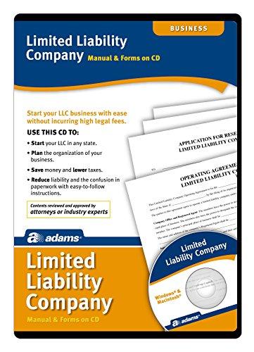 Adams Limited Liability Unternehmen Manuelle und Formen auf CD (SS4309) (Unternehmen Legal Software)