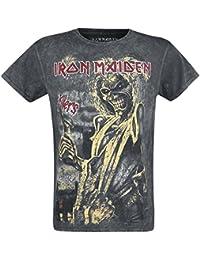 Iron Maiden Killers Vintage T-Shirt schwarz