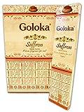Goloka Räucherstäbchen Safran, 15 g