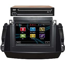 Generic 17,8cm 1024* 600Quad Core voiture DVD GPS Navigation pour Renault Koleos 2014Système multimédia Bluetooth iPod RDS Radio stéréo Répertoire automatique vidéo audiio TV Multimédia MFD Volant Canbus Support la avec Bose Amplificateur de voiture avec l'original GPS