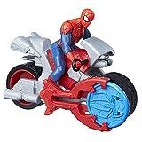 Hasbro – Marvel – Spider-Man – Blast N Go – SpiderMan avec Moto – Figurine 9.50 cm + Véhicule