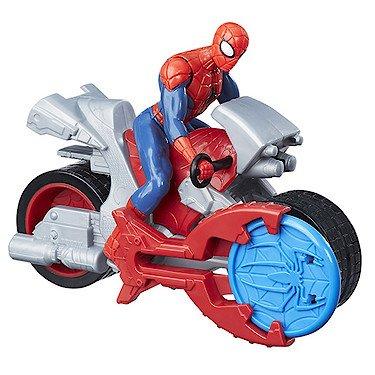 Spider-Man 5010993334407 Spiderman Racers con Ciclo