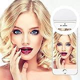 36 LED Selfie Licht Ring,Yica Fotolicht Selfie Enhancing Nacht Front Kamera Licht für Smartphones und Tablets mit 3 Ebene Helligkeit