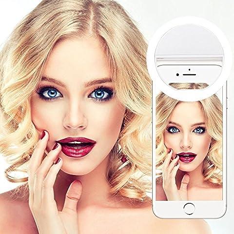Selfie Ring Light,Yica 36 LED Lighting Outdoor Webcast Indispensable Supplementary