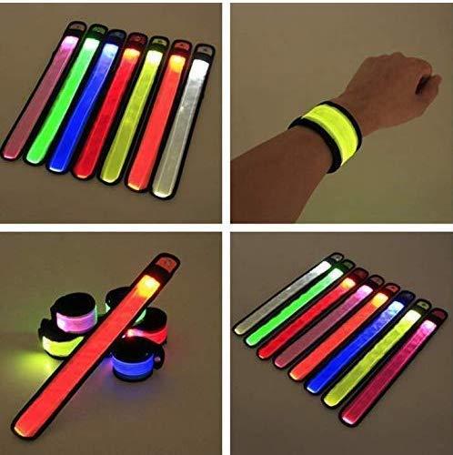lap Armband LED Snap On Armband mit hoher Sichtbarkeit für Radfahren / Radfahren / Wandern / Joggen / Laufbekleidung Farbe zufällig ()