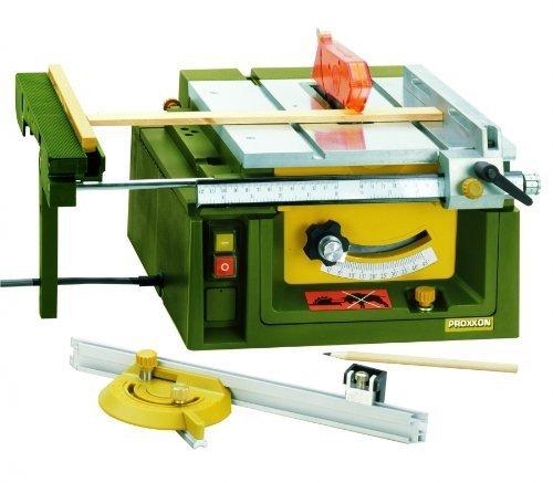 Sega circolare da Banco Proxxon PROFESSIONALE MicroMot Mod. Fet No. 27070 modellismo bricolage, hobbystica, tagli di precisione diritti che non richiedono ulteriore finitura , per meccanica fine costruzion di forme giocattoli e moltro altro ancora