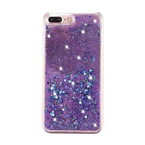 iPhone 6/6S Coque - 3D Design Créatif Prime Luxe Shine Flow Sand Adorable Flowing Flottant Mouvement Shine Glitter Sequins Bling Cute Pattern Téléphone Case pour iPhone 6/6S - Born to Shine 9-C