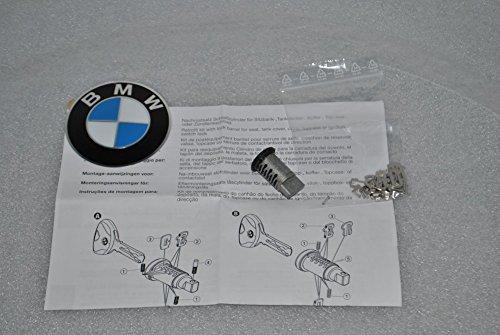 BMW, serratura a cilindro codificabile, adatta per il bauletto delle motociclette BMW R1200, R900, K1200, F750, F850, F650, incluso gettone per il carrello, codice articolo 51257698202