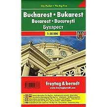 Bukarest, Stadtplan 1:10.000, City Pocket + The Big Five (freytag & berndt Stadtpläne): Stadskaart 1:10 000